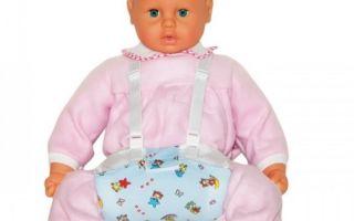 Правила подбора и применения перинки Фрейка для терапии дисплазии тазобедренного сустава у новорожденных