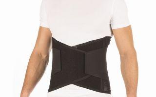 Принципы применения полужесткого грудопоясничного корсета при болезнях опорно-двигательного аппарата