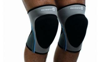 Бандажи на коленный сустав