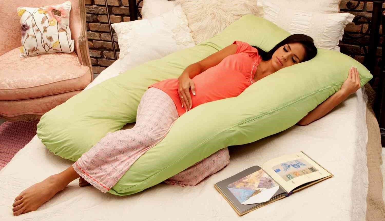 Специальная подушка для сна для беременных 32