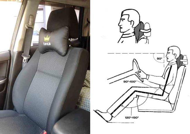 Автоподушка для шеи