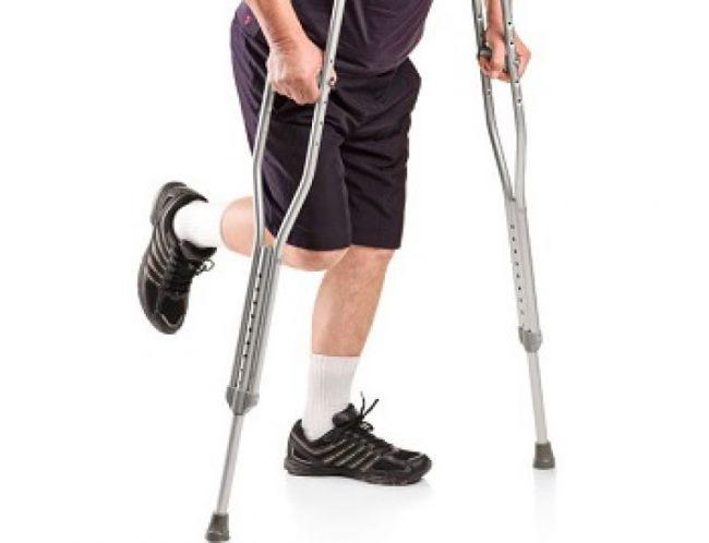 Надежная опора при повреждении одной конечности