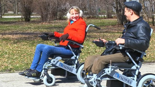Электрическое средство передвижения помогает преодолеть психоэмоциональные барьеры
