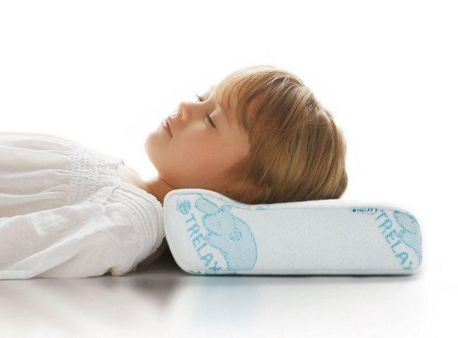 Позаботьтесь о здоровье позвоночника ребенка – подберите качественную подушку
