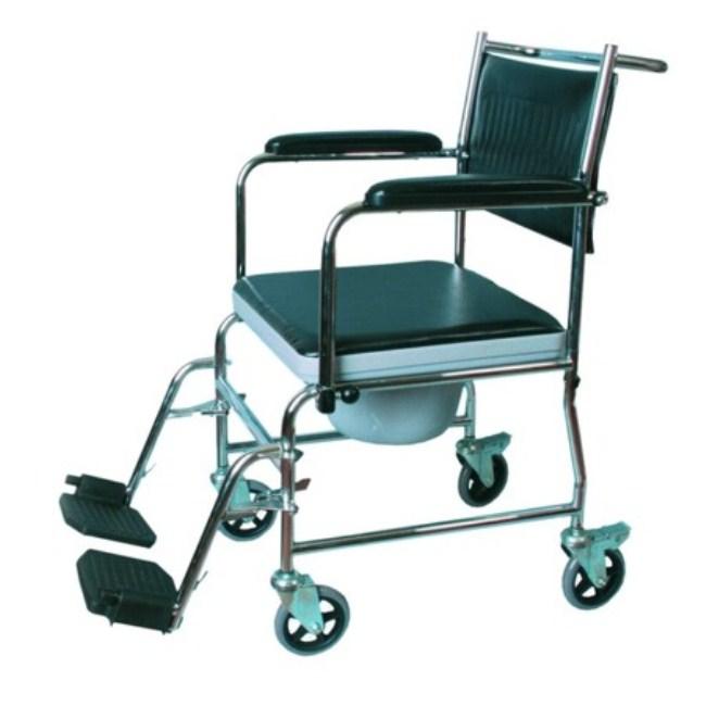 Также есть специальные коляски со встроенной емкостью для туалета, они нуждаются в постоянной очистке