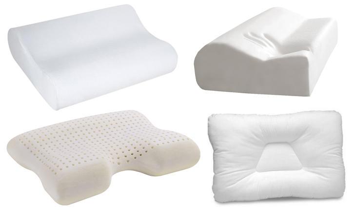 Важно понимать, что 2 варианта, показанных снизу – это неклассические ортопедические подушки: их можно приобрести только после тщательной проверки