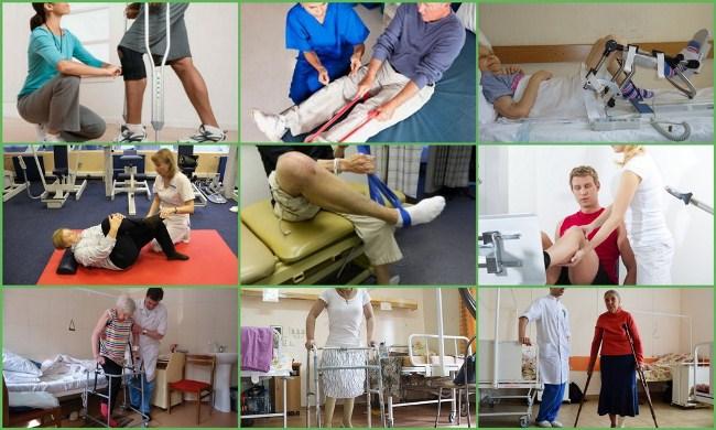 Реабилитация после коленного эндопротезирования