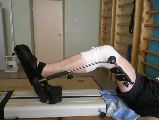 Несложные упражнения во время реабилитации
